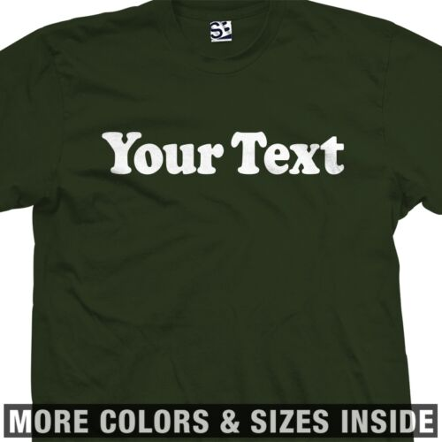 Custom Cooper T-Shirt All Sizes /& Colors Classic Personalized Font Text 80s