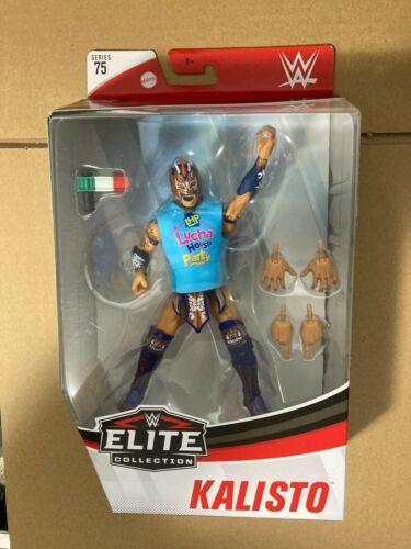 WWE Wrestling Elite Collection Série 75 Kalisto action figure RARE NEW