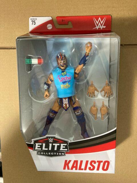 KALISTO Mattel ELITE COLLECTION Series 75 WWE Wrestling Figure SEALED