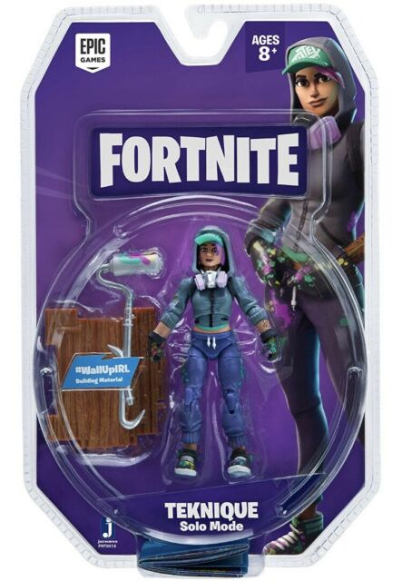Epic Games Fortnite Solo Mode Core Figure Pack Teknique NEW in BOX