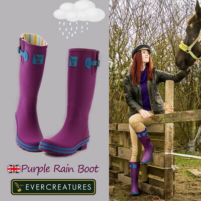 Evercreatures High Quality Rain boots Wellies Cute Printing Waterproof Boots