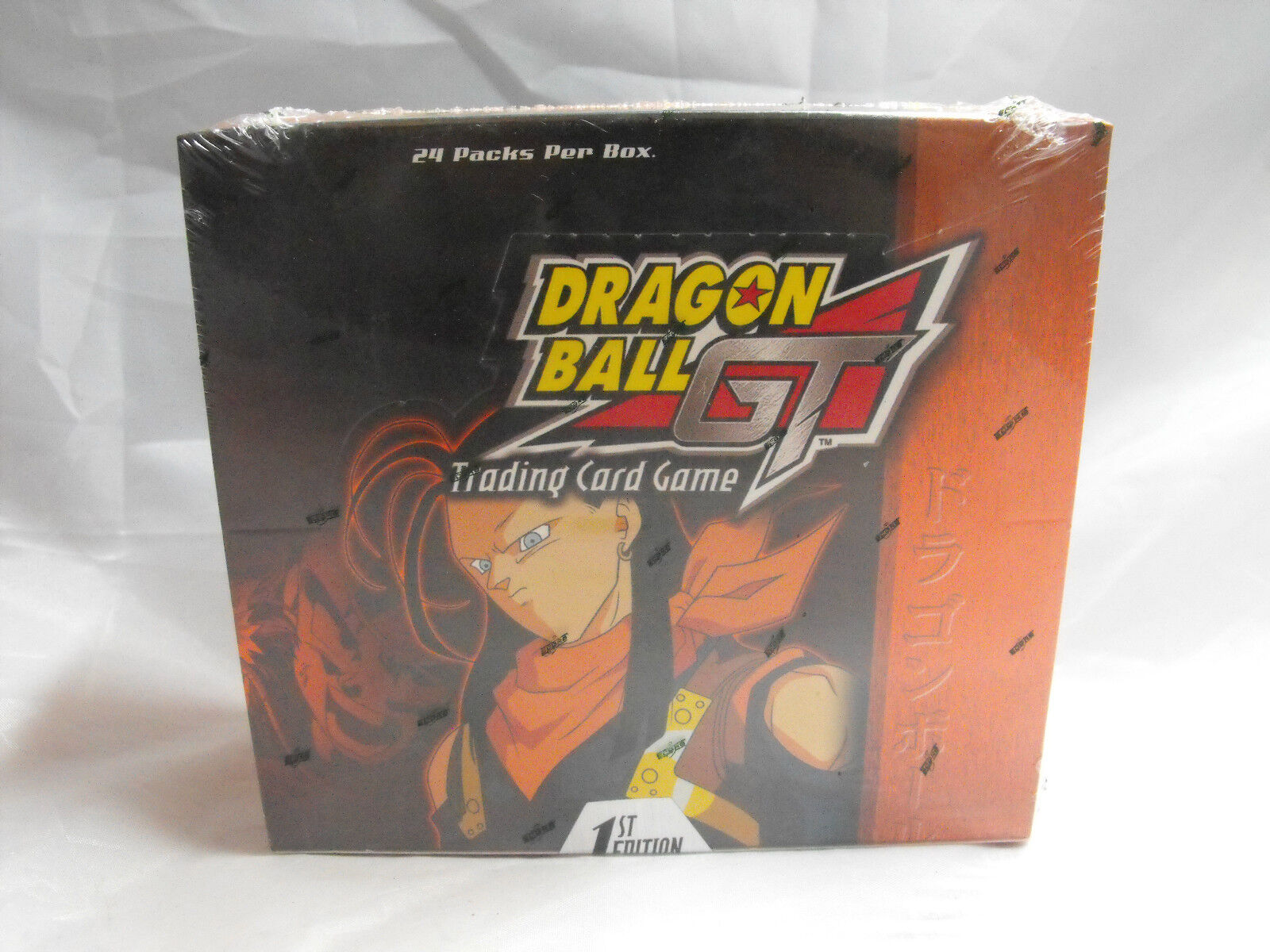 Dragon ball gt tcg ist ú je 17 - saga sellado booster caja de paquetes 24 (1.