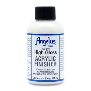 Angelus Finisher Hochglanz 118ml (105,93€/1L) für Lederfarbe schützt akzentuiert