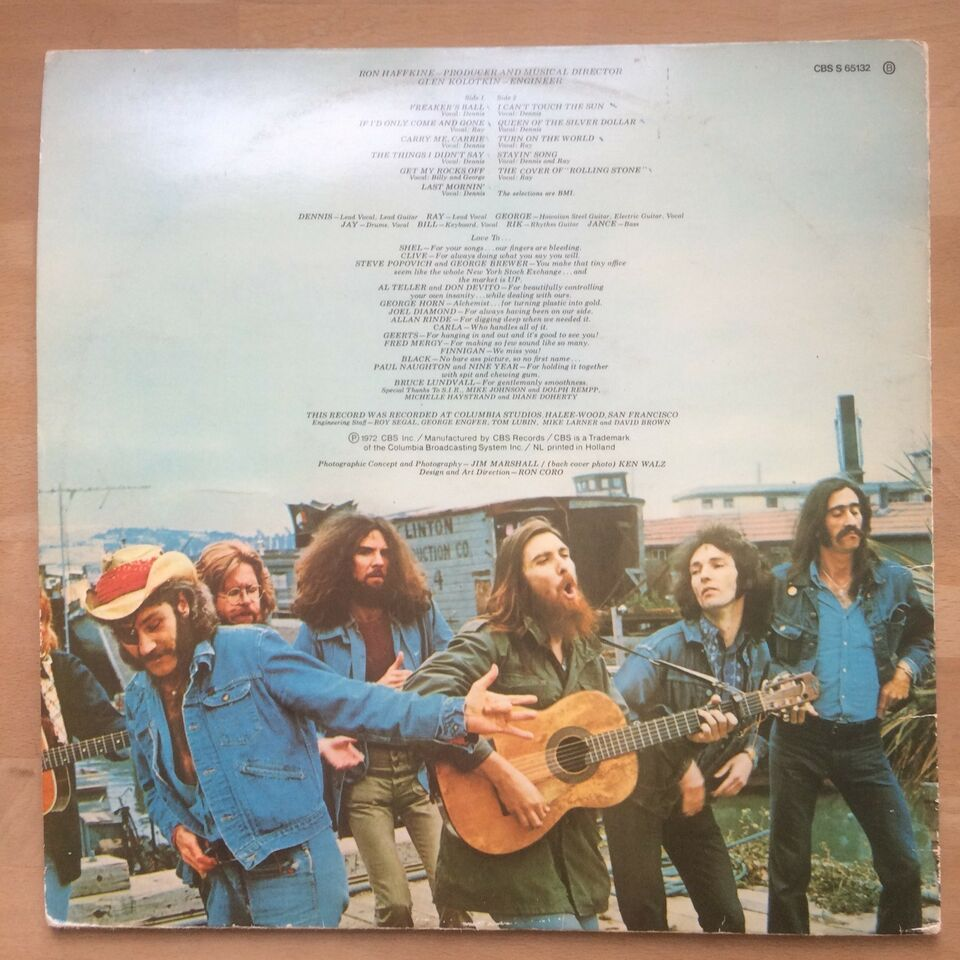LP, Dr. Hook and the Medicine Show, Sloppy Seconds