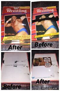 1985-OPC-TOPPS-WWF-PRO-WRESTLING-STARS-EMPTY-DISPLAY-wax-BOX-shrink-wrapped