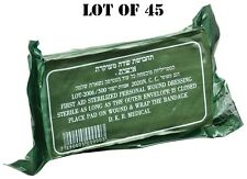 LOT 45 IDF sealed Trauma Israeli Bandage Field Emergency Army Military IFAK 2021