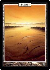 Plaine Unhinged - Plains - Textless - Magic mtg - NM