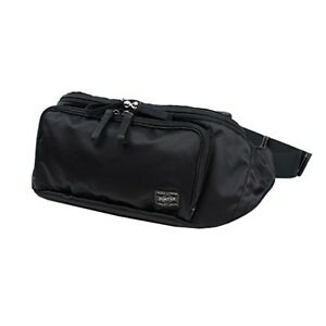 92c399b6ab5 NEW Yoshida Bag PORTER PORTER PLAN WAIST BAG 728-08711 Black From ...