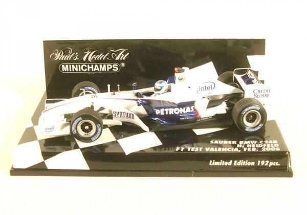 Propre BMW c24b No. 16 Test Test Test Valence Formula 1-February 2006 (Nick Heidfeld) | Outlet Shop En Ligne  54733a