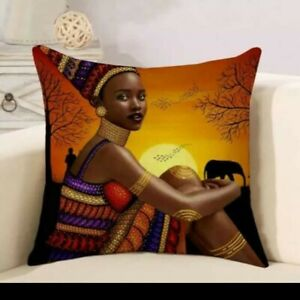 Cushion Covers For Home Decor Handmade Unique Designs Uk Seller African Ebay