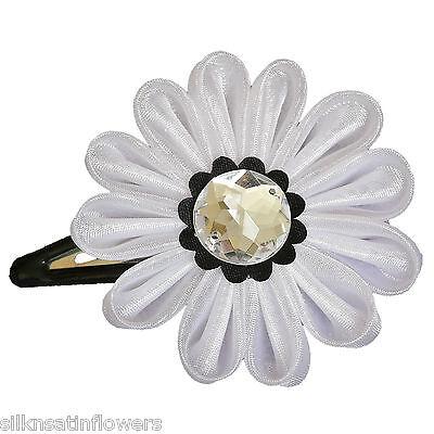 Crystal Daisy Flower Hair Clips for Pettiskirt Skirt