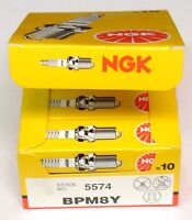 Ngk Spark Plugs (10-pack) For Echo Chainsaws Replaces Champion Cj6y Bpm8y(10)