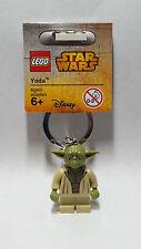 Brand New Lego - Yoda Keyring (2015) - Star Wars - 853449