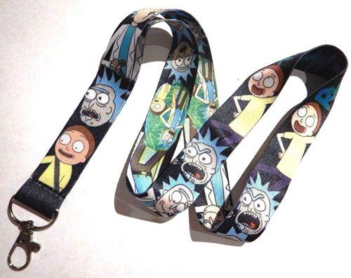 Rick and Morty Characters LANYARD Keychain