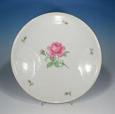 """Fürstenberg """"Rote Rose"""" Platte 32,5 cm."""