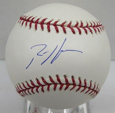 Autographs-original Ambitious Rich Harden Signed Baseball Oml Autographed Tristar Mlb Authentic Bb7 25965