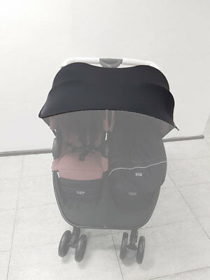 Sonnen Sonnensegel für Zwillingskinderwagen Universal Sonnenschutz Sonnendach