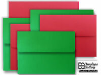 Christmas Envelopes For Enclosures Invitations Gifts Party Red & Green A2 A6 A7