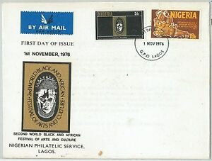 Postal History Nigeria Straightforward 63208 1976 Folklore Music Good Companions For Children As Well As Adults Fdc Cover