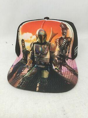 DISNEY STAR WARS THE MANDALORIAN BASEBALL HAT CAP NEW ...