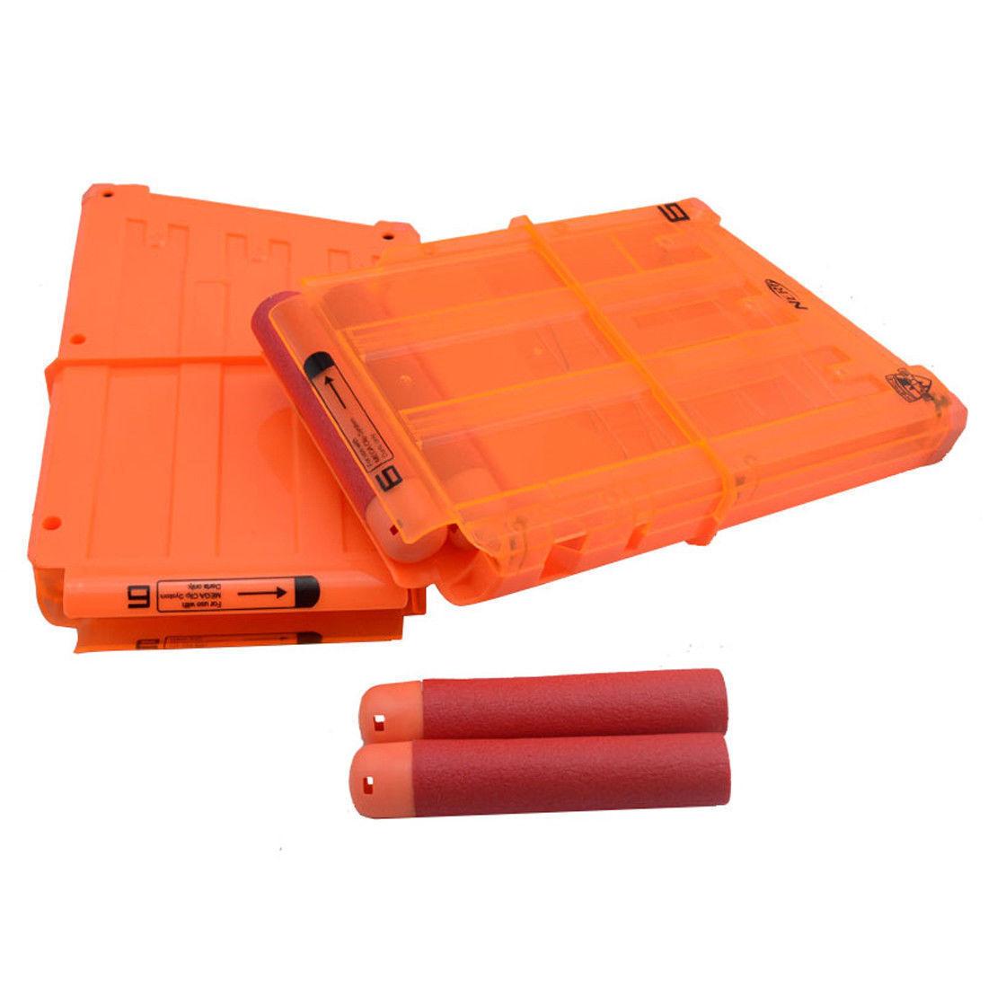 2PCS Ammo Ammo Ammo Magazine Clip Replacement for Nerf N-Strike Mega Centurion Blaster e67e9c