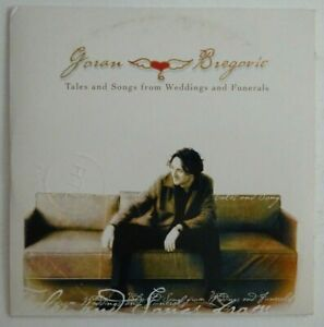 GORAN BREGOVIC : TALES AND SONGS FROM WEDDINGS AND FUNERALS ♦ CD ALBUM PROMO ♦