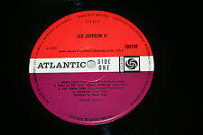 LED ZEPPELIN II 1969 RED PLUM A2/B5 UK 1st Press 588 198