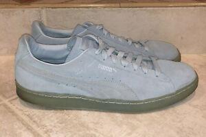 Puma Suede Classic Blue Ice Mix Size 13