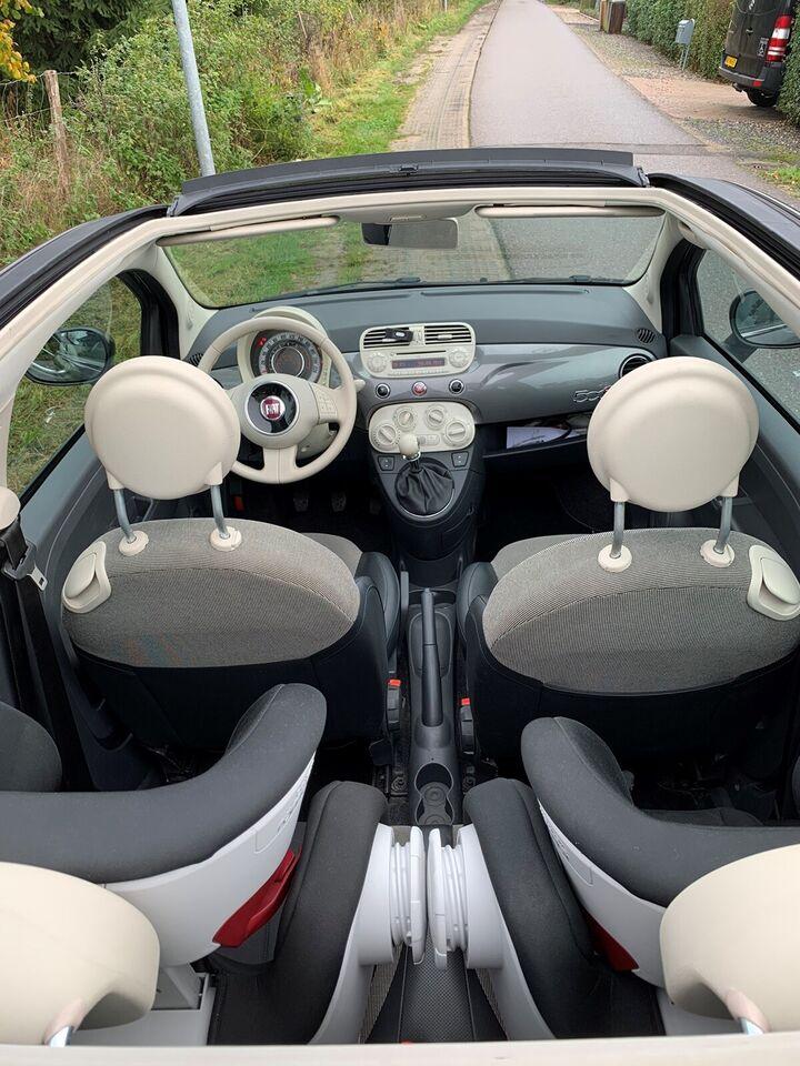 Fiat 500C, Benzin, 2010