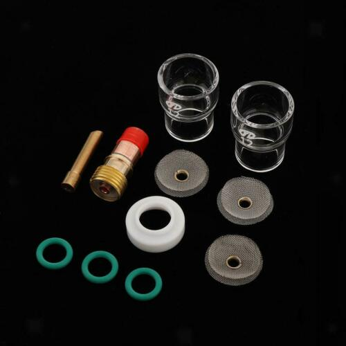 10pcs TIG Torch Consumables Accessories KIT for WP 17//18//26