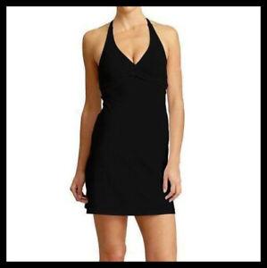 Athleta-NWT-Women-039-s-Tara-Swimdress-Color-Black
