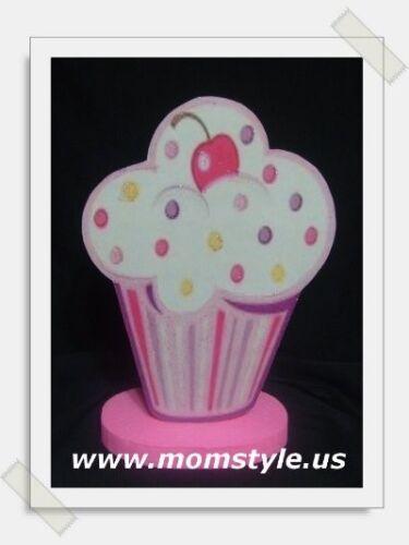 Cupcake Birthday Party Centerpiece and decor