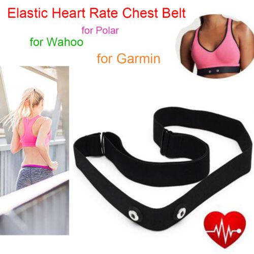 Chest Belt Elastic Strap Band for Polar Wahoo Garmin Wireless Heart Rate Monitor