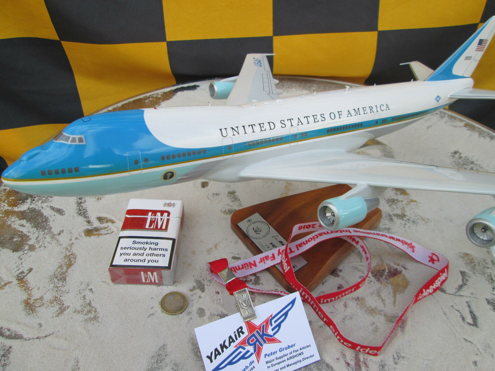 Boeing  Air Force One XXL B 747 Jumbojet   Avion   Aircraft   YakAir