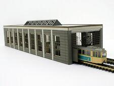 Modellbahn Union N-B00018 - Straßenbahndepot / Lokschuppen - Spur N - NEU