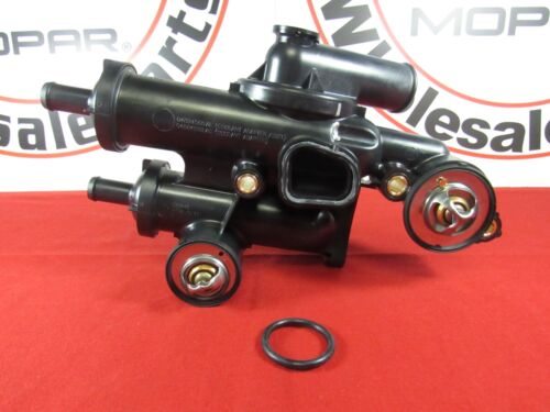 DODGE CHRYSLER JEEP 2.0L 2.4L THERMOSTAT HOUSING KIT NEW OEM MOPAR