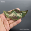 Patch-Toppa-Esercito-Militare-Military-AirBorne-AirForce-Ricamata-Termoadesiva Indexbild 15