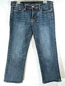 Lucky-Brand-Womens-Sweet-N-Low-Crop-Capri-Jeans-Medium-Wash-Tag-Size-10-30