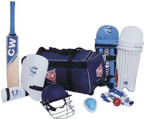 ACADEMY Kit Blue 9pcs Sports Gears Junior Equipment Set Size 4 For Boys 7-8 Yrs