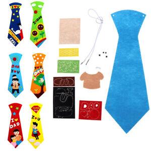 Creative-crafts-DIY-ties-kindergarten-kids-handmade-educational-toys-gifts-TRFR