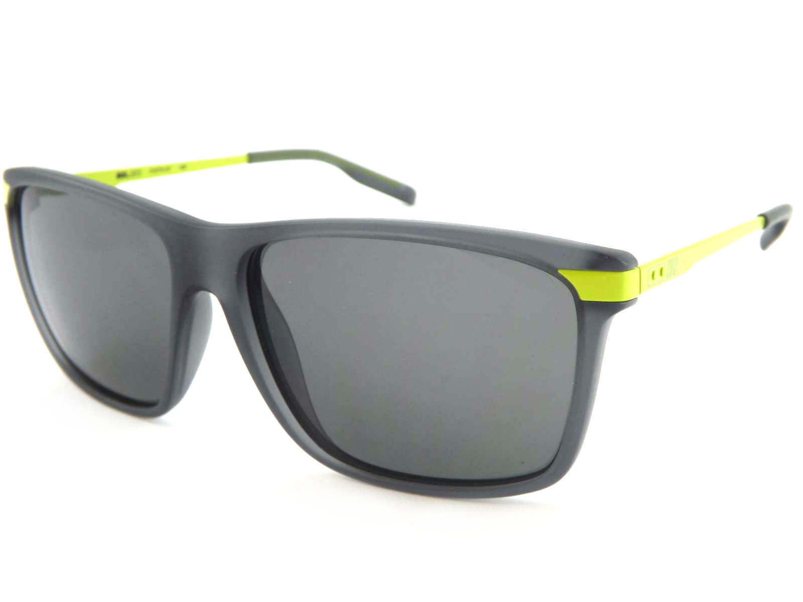 f04d3b285f NIKE MDL 252 sunglasses Matte Dark Grey with Volt Yellow Arms   Grey Lens  017