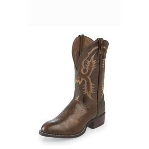 Cowboy voor Tony Round Lama Chocolate Boot ToeCt2032 Shoulder heren Shrunken erCoxWdB