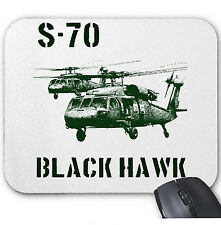 BLACK HAWK HELICOPTER - MOUSE MAT/PAD AMAZING DESIGN