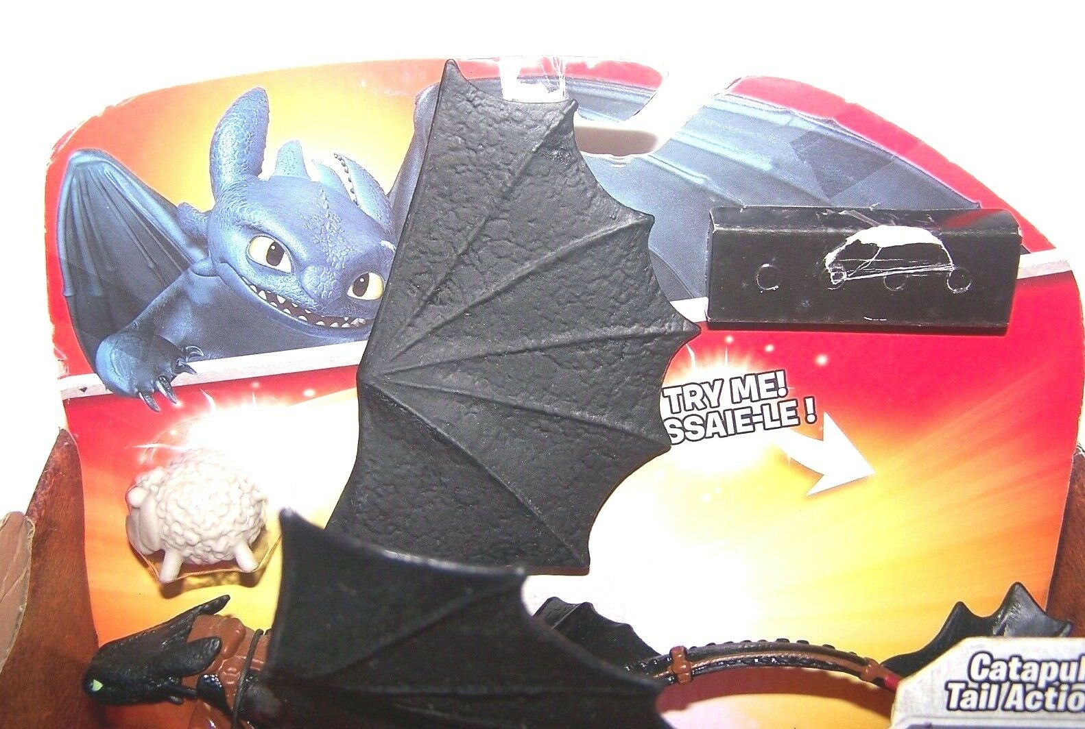 NEW Dreamworks How to Train Dragon Dragon Dragon Dragons Defenders of Berk Toothless Catapult 74dd95