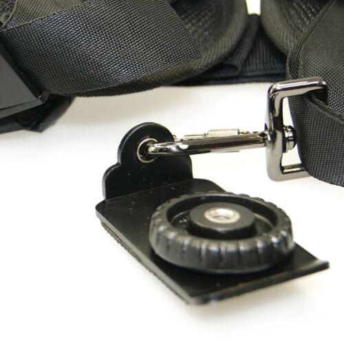 Cámara De Hombro Doble Rápido Profesional correa de cinturón para Canon Nikon Sony ZY