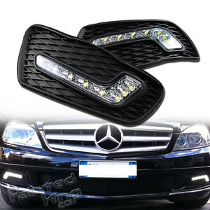 how to turn on fog lights on mercedes c class
