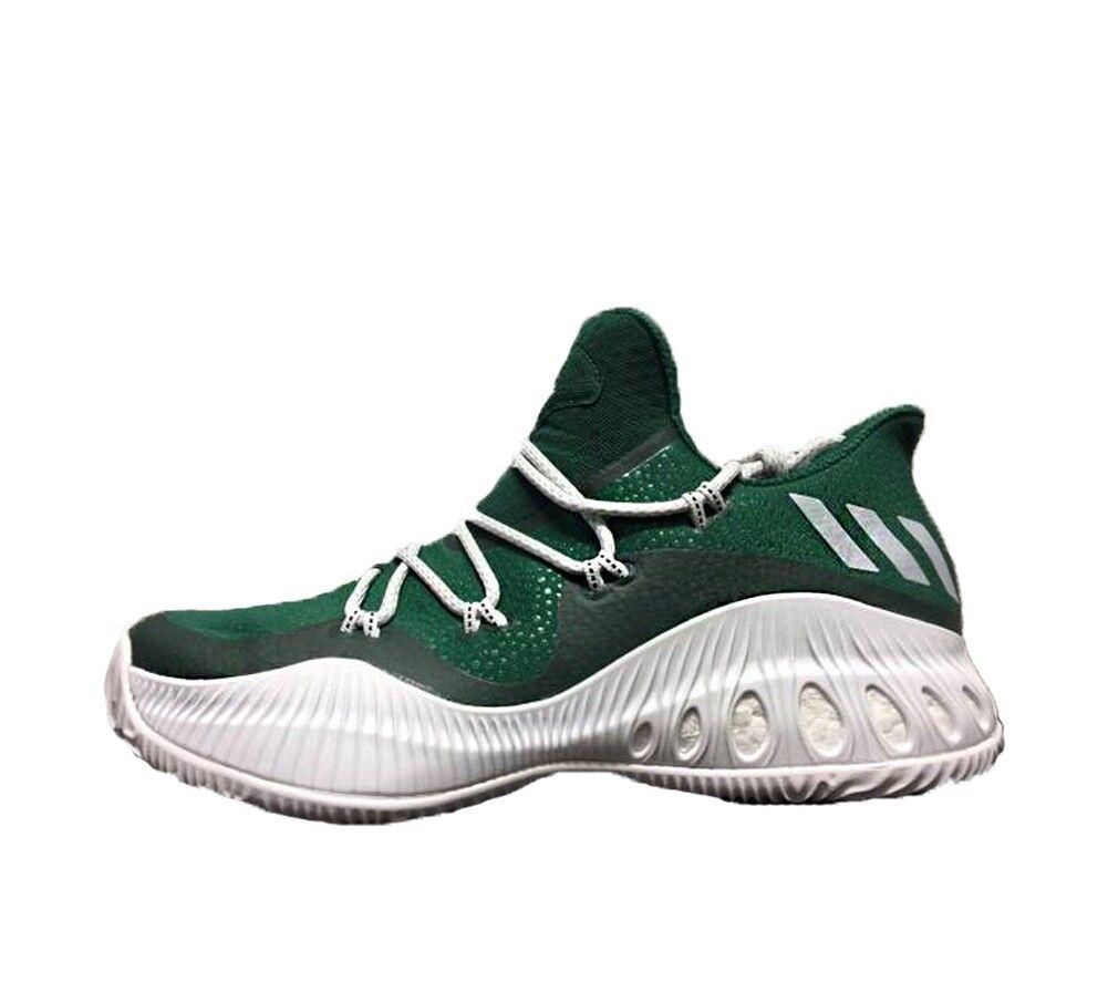 ADIDAS Crazy Explosive Low CELTICS BUCKS Green White 16 Boost Basketball shoes
