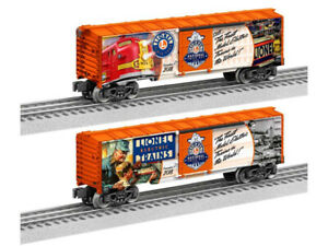 LIONEL-2018-TRAIN-DAY-BOXCAR-O-GAUGE-limited-edition-quantity-box-6-1838010-NEW