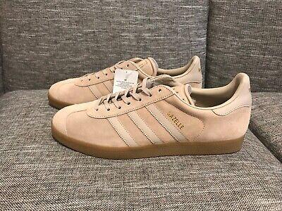 ADIDAS Originals Gazelle Clay Tan Khaki Beige Gold Gum Sneakers/Shoes M10.5 RARE   eBay