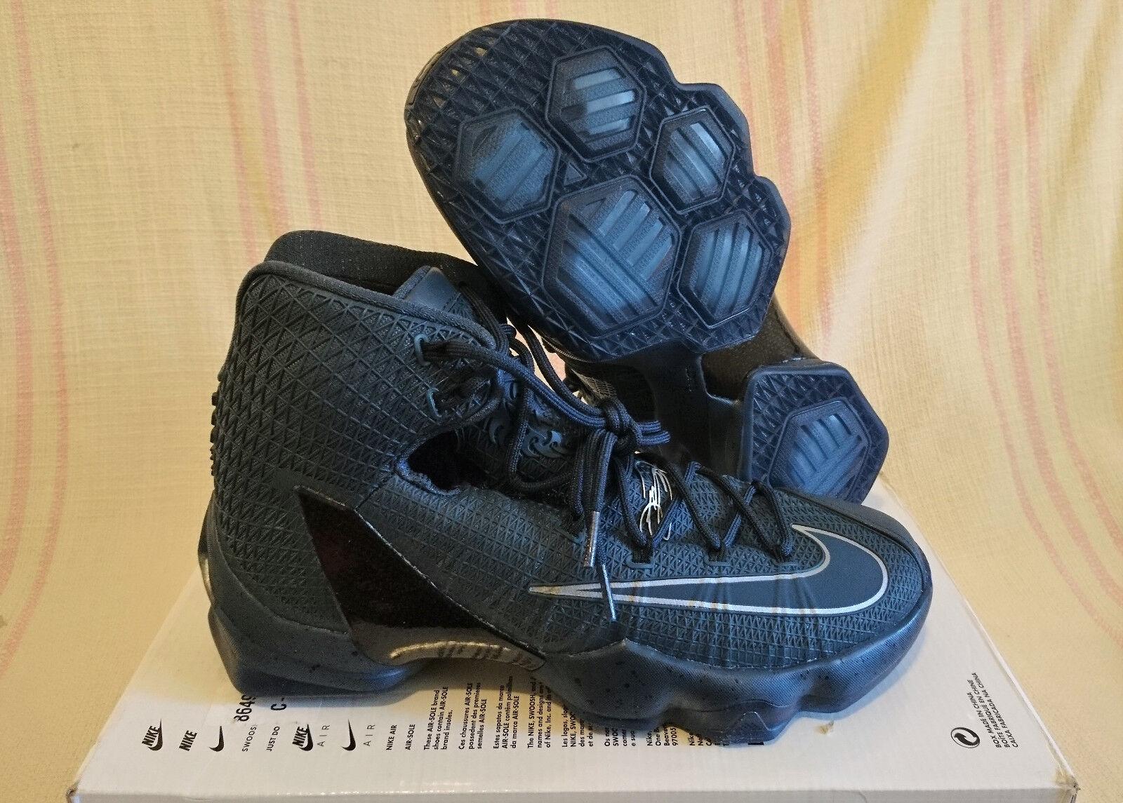 Sz 9 Nike Lebron XIII 13 Elite LMTD Limited Squadron Blue Silver 864942 440 LBJ